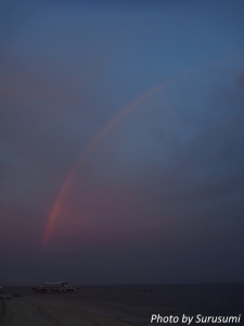 マラパスクワの虹