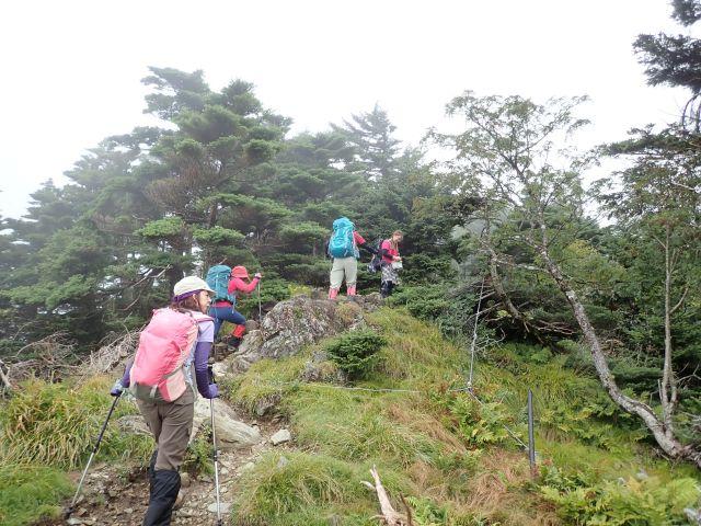 20170910八経ヶ岳09