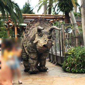 大阪USJ恐竜