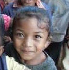 マレー系の美少女マダガスカル
