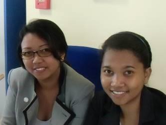 マダガスカル女性銀行員