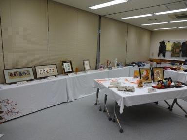 多くの作品展示をいただきました。