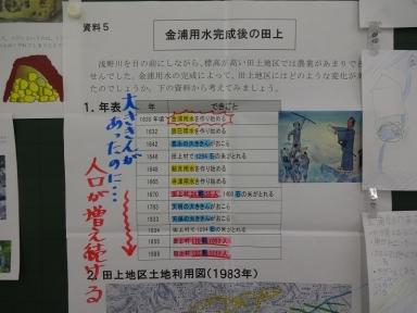 しっかりとした資料も掲示してありました。