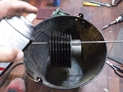 エンジン腰上清掃 (7)