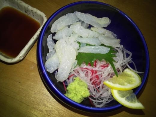 クラゲ刺身