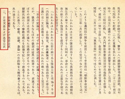 朝鮮革命宣言暗殺破壊暴動
