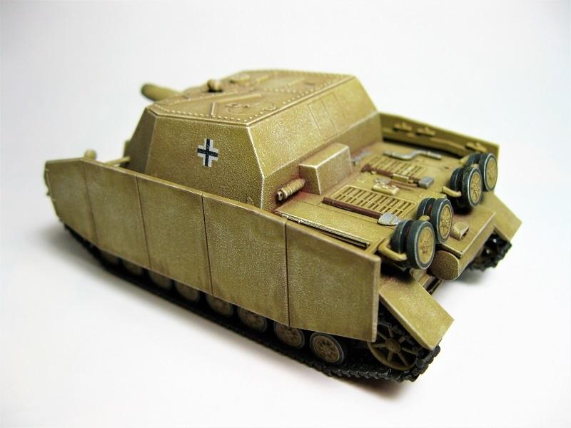 イタレリ 1/72 Ⅳ号突撃戦車ブルムベア