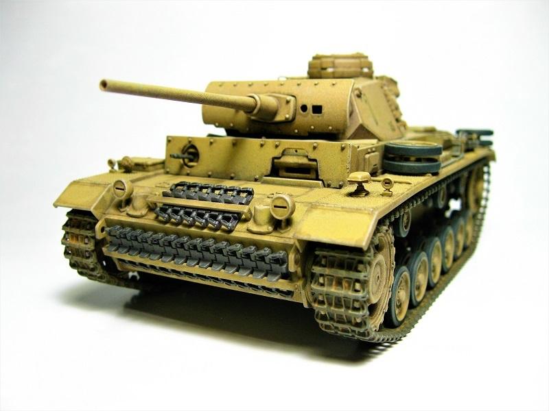 タミヤ 1/35 Ⅲ号戦車L型