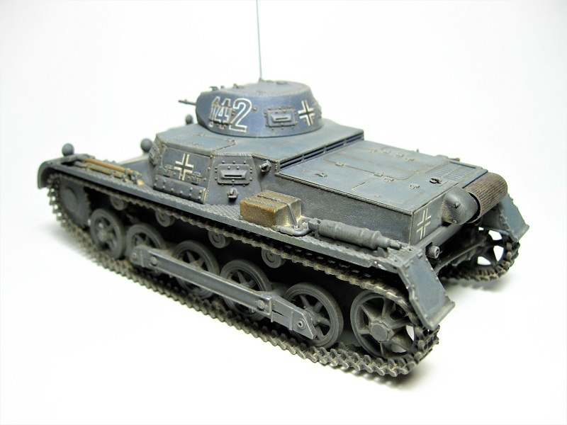 ドラゴン 1/35 Ⅰ号戦車