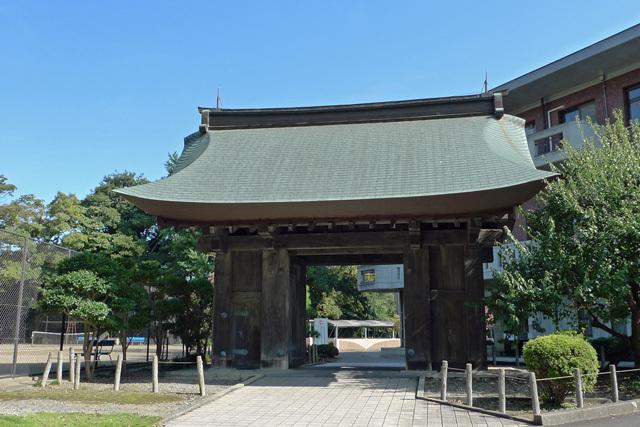 水戸城薬医門(橋詰門)