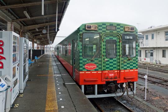 モオカ14型@下館駅
