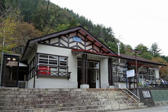 通洞駅の駅舎