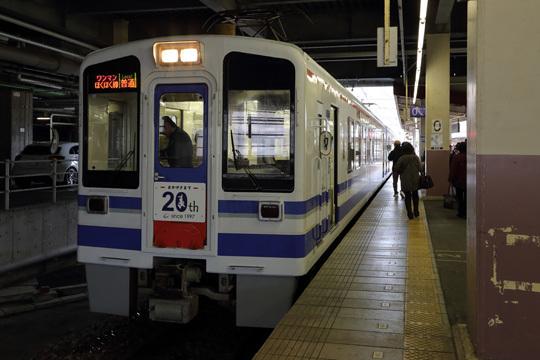越後湯沢駅0番線