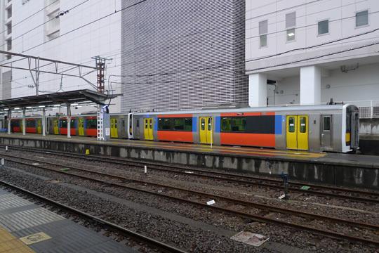 水郡線キハE130の4連@水戸駅