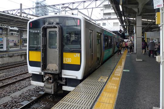 水郡線@水戸駅