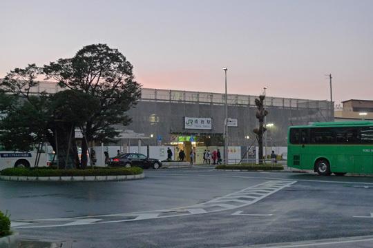 JR成田駅@工事中