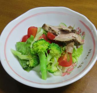 ブロッコリー秋生野菜サラダ利用