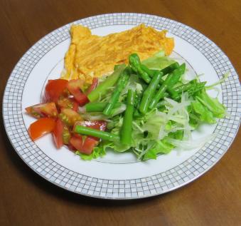 キャベツ入り生野菜サラダ
