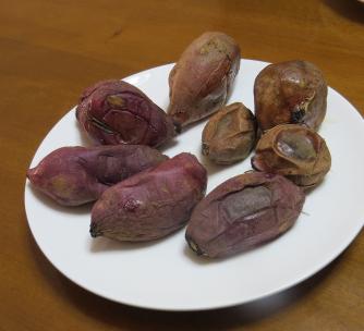 電子レンジ焼き芋