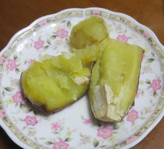 電子レンジ焼き芋大イモ