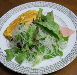 ミックスレタス入り生野菜サラダ