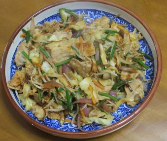 花ニラ料理2