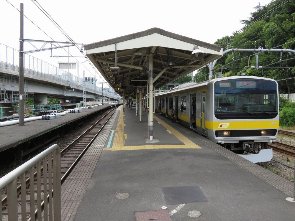 中央線千駄ヶ谷駅