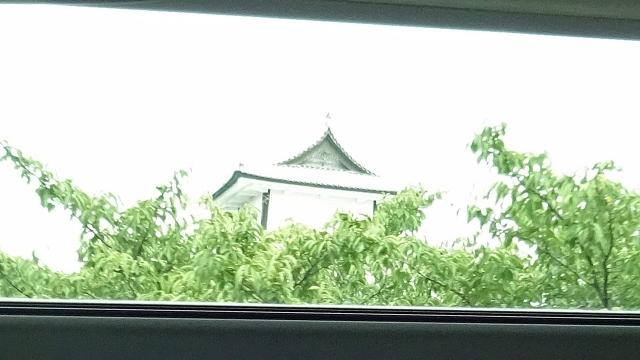 16金沢城(車窓)