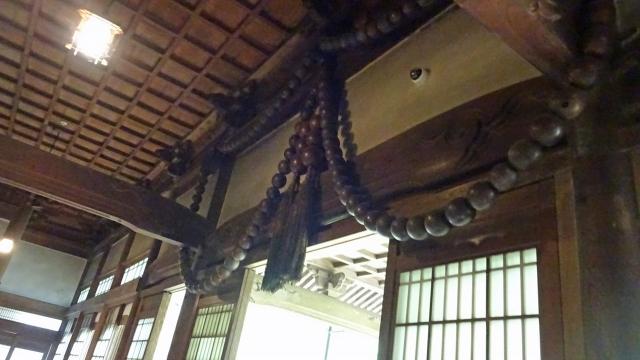 29祠堂殿の大数珠