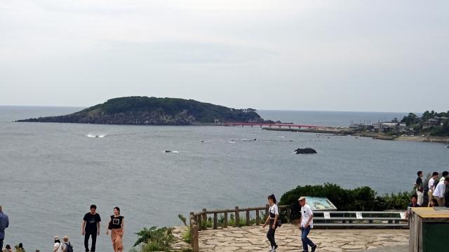 5広場からの海の景色