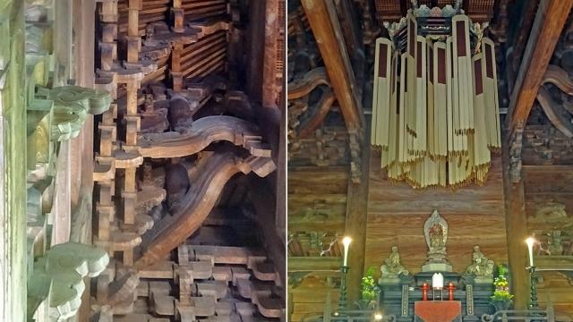 9仏殿の内部