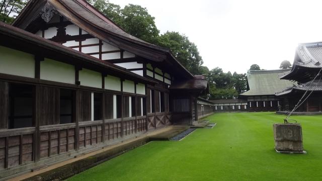 7回廊と禅堂 仏殿と法堂