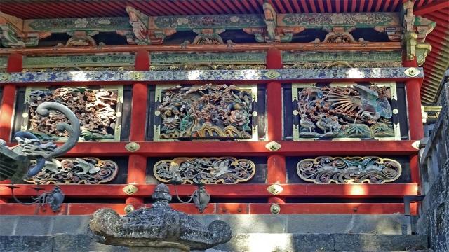 12回廊の彫刻