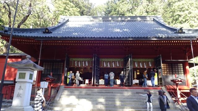 5本社 拝殿(国の重要文化財)
