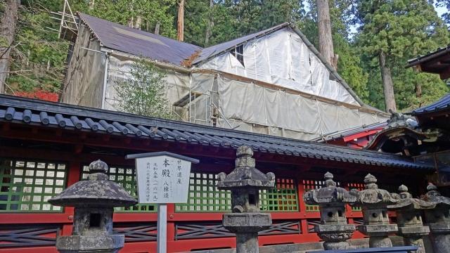 9本殿と透塀(重要文化財)