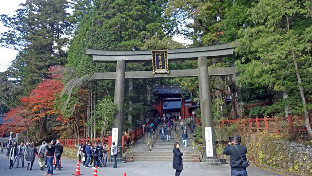 15大鳥居と神門