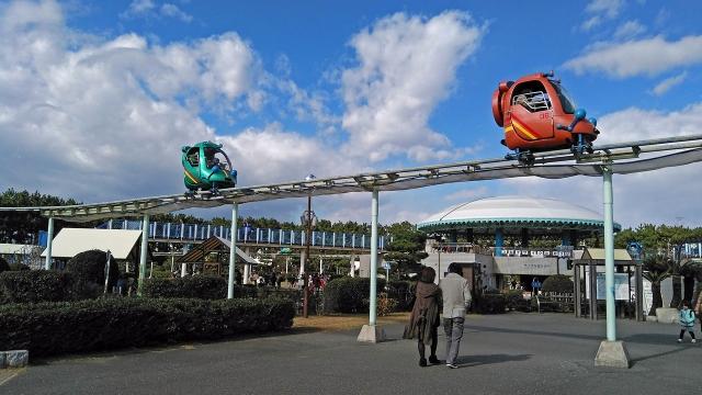 4交通公園のスカイサイクル