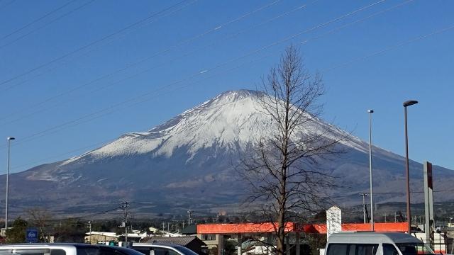 2道の駅からの富士山