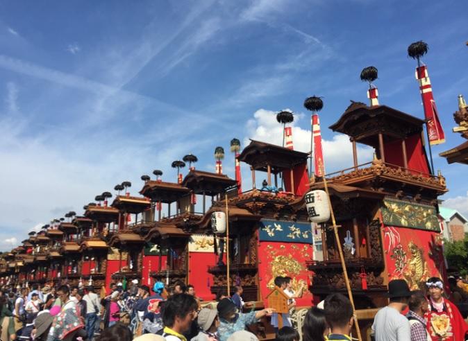 2017-10-9半田山車祭り