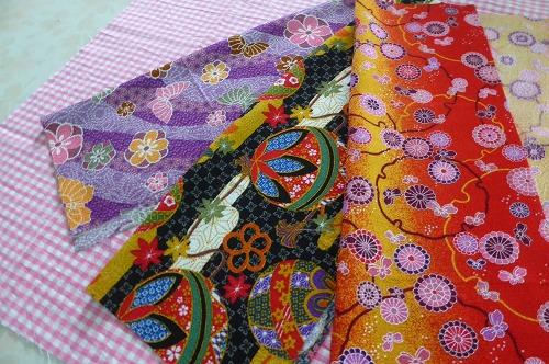 お手玉作り用の布