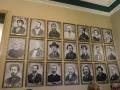 ソヴィエツキー・ホテルを訪れた有名人の肖像画