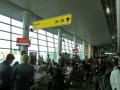 シェレメチェボ空港の搭乗ロビー