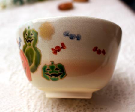 1028抹茶碗ハロウィン1