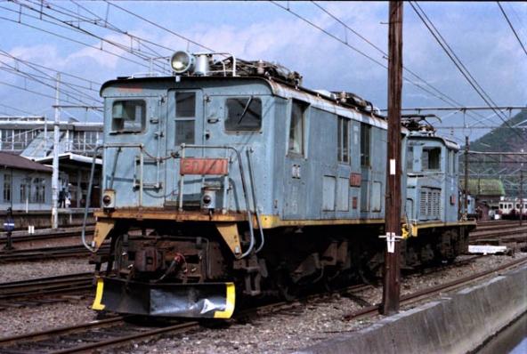 近江鉄道ED14 1とロコ1101