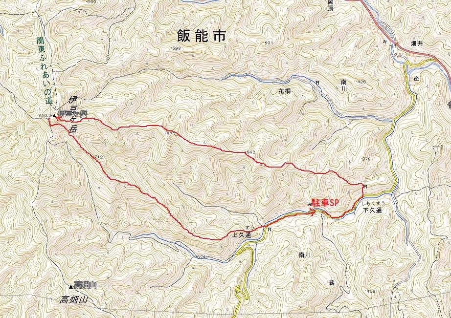伊豆ヶ岳higashi