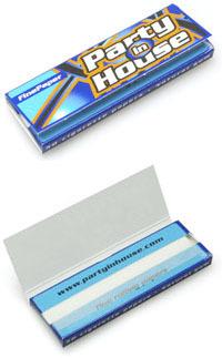 party-in-house-blue パーティ・イン・ハウス・ブルー 手巻きタバコ 巻紙 ローリングペーパー 薄紙 スローバーニング
