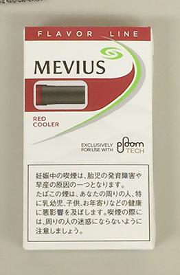 メビウス・レッド・クーラー・フォー・プルーム・テック MEVIUS_REDCOOLER_FOR _PLOOMTECH プルームテック PLOOMTECH 電子タバコ 加熱式タバコ