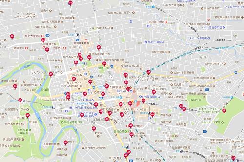伊達バイクポートマップ