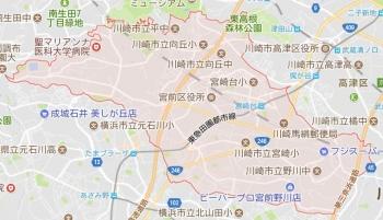 map川崎市宮前区