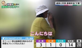 TXN衆院選SP 池上彰の総選挙ライ